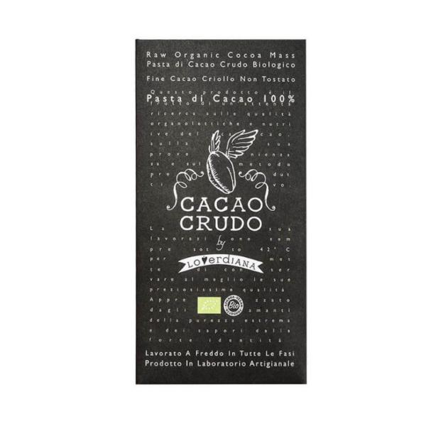 Rauwe chocolade 100% cacao