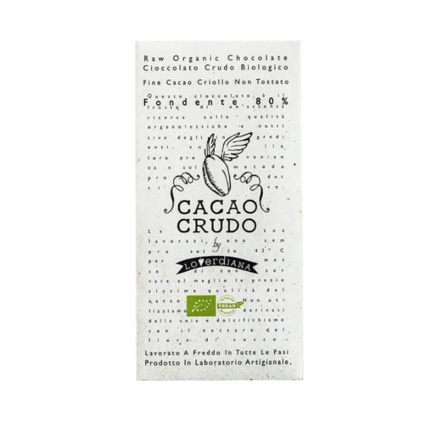 Rauwe chocolade 80% cacao