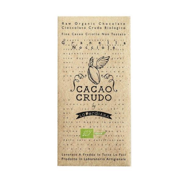 Rauwe chocolade hazelnoten