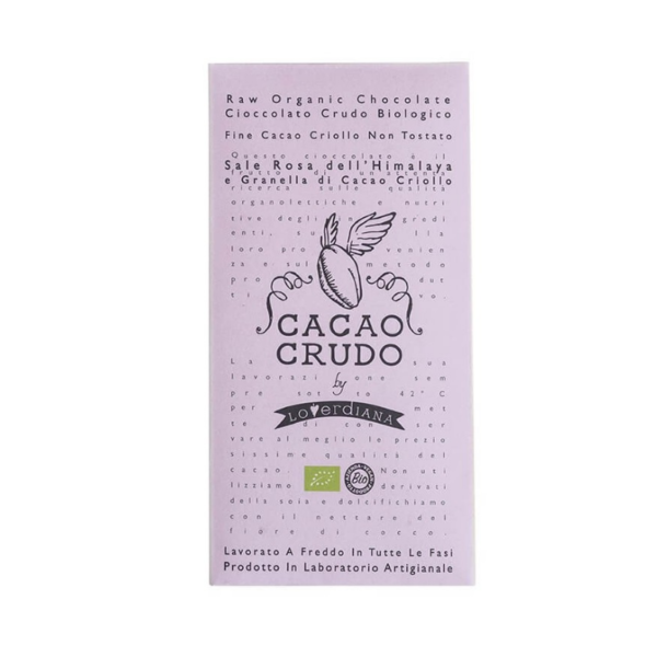Rauwe chocolade himalaya zout & cacaonibs