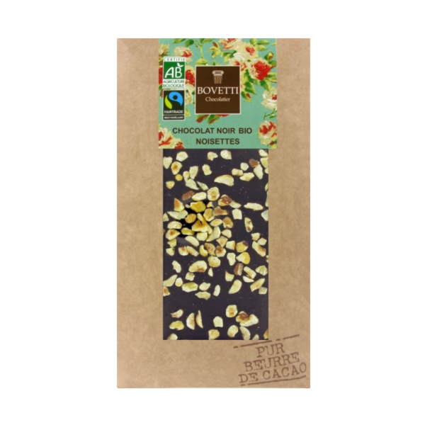 Pure chocolade met hazelnoten