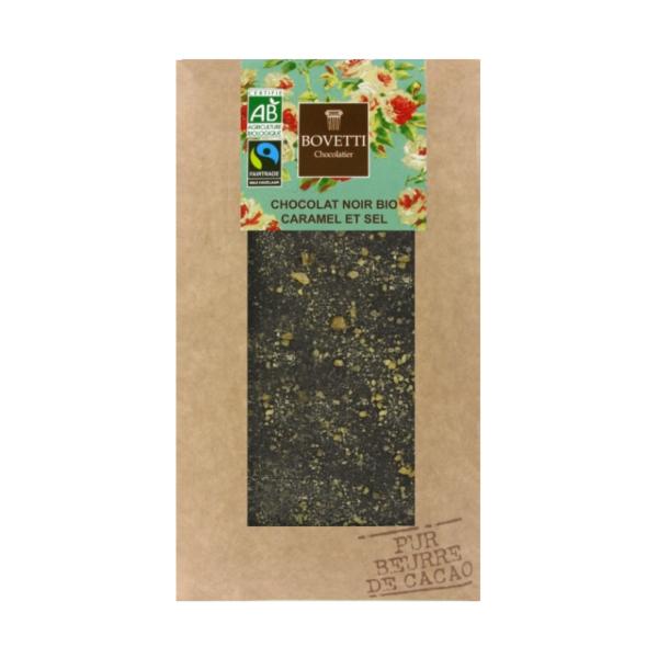 Pure chocolade met karamel & zout