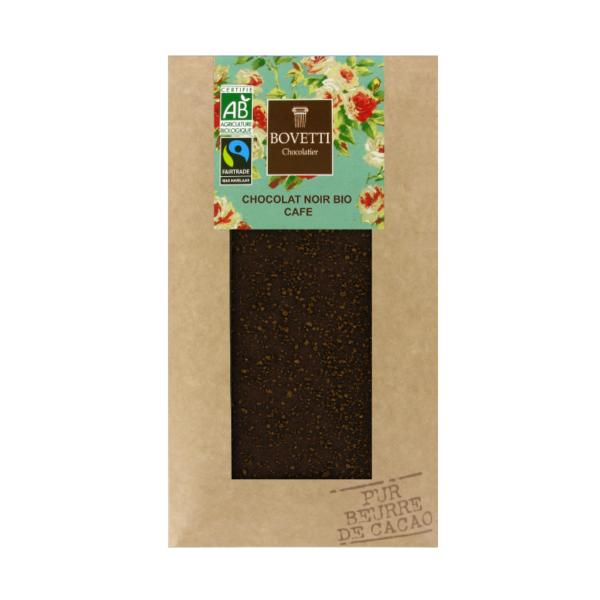 Pure chocolade met koffie