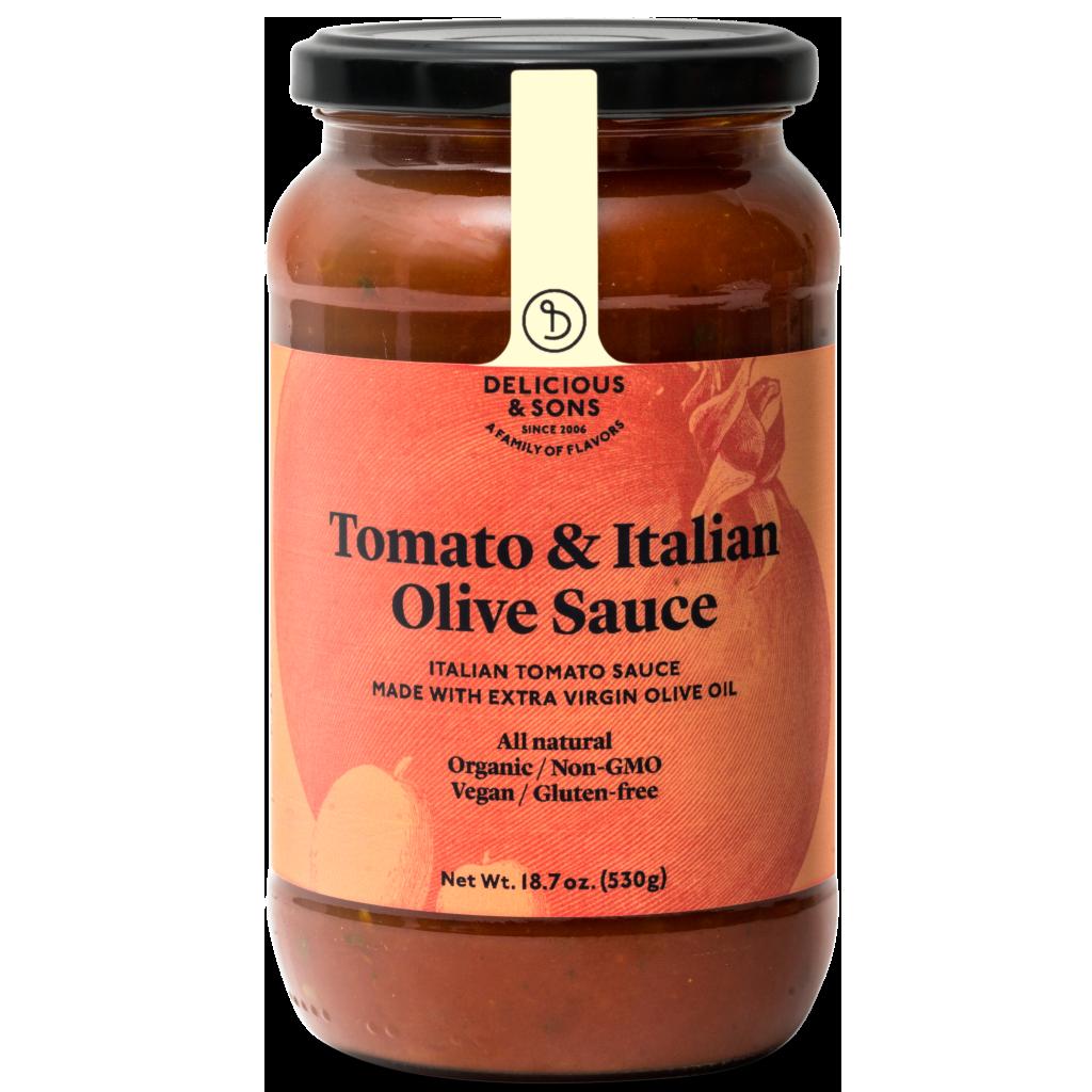 Tomatensaus Olijven
