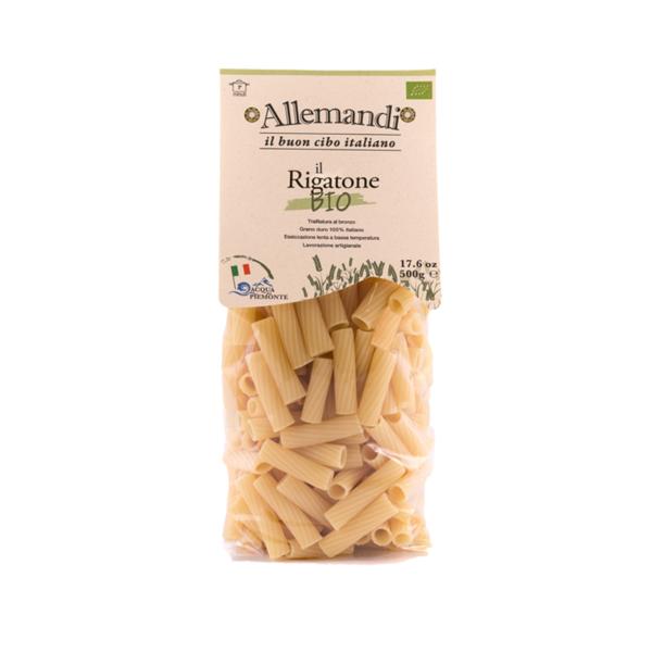 Pasta Rigatone zonder plastic