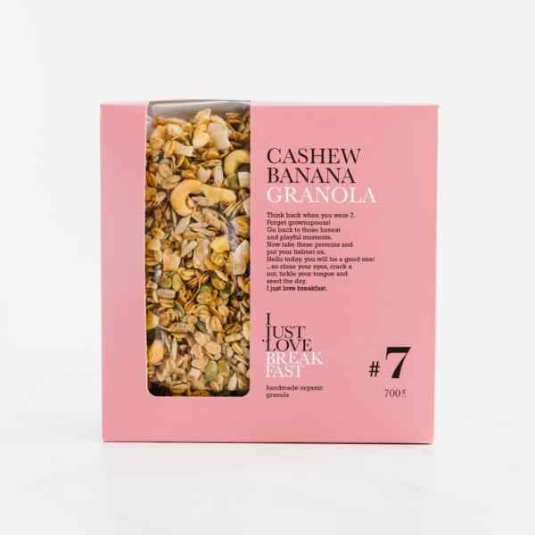 Granola met Cashew & Banaan XL