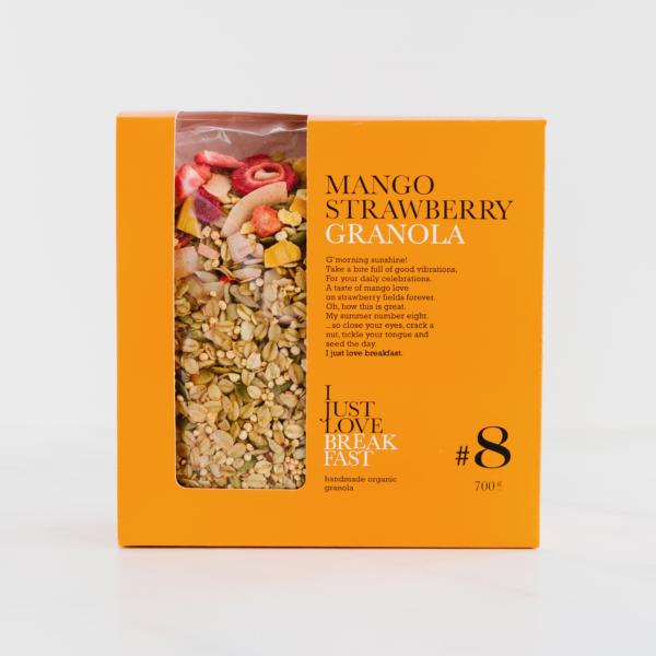 Granola met Aardbei & Mango XL